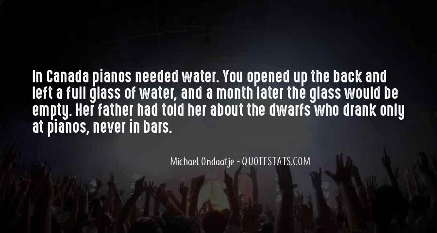Glass Full Of Water Quotes #882449
