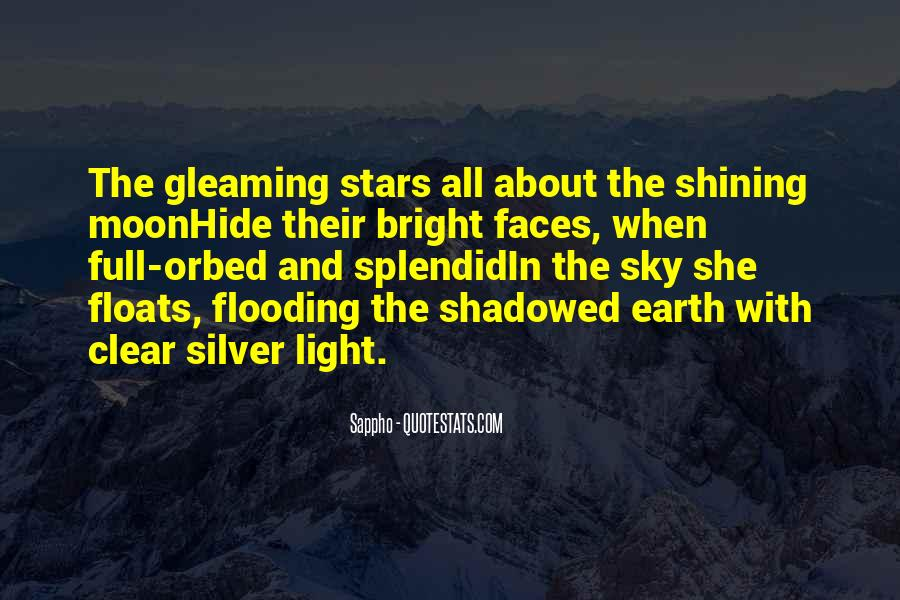 Gleaming Quotes #1012402