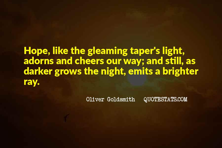 Gleaming Quotes #208250