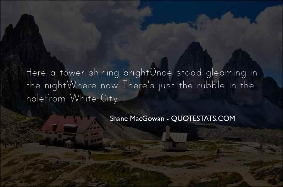 Gleaming Quotes #83455