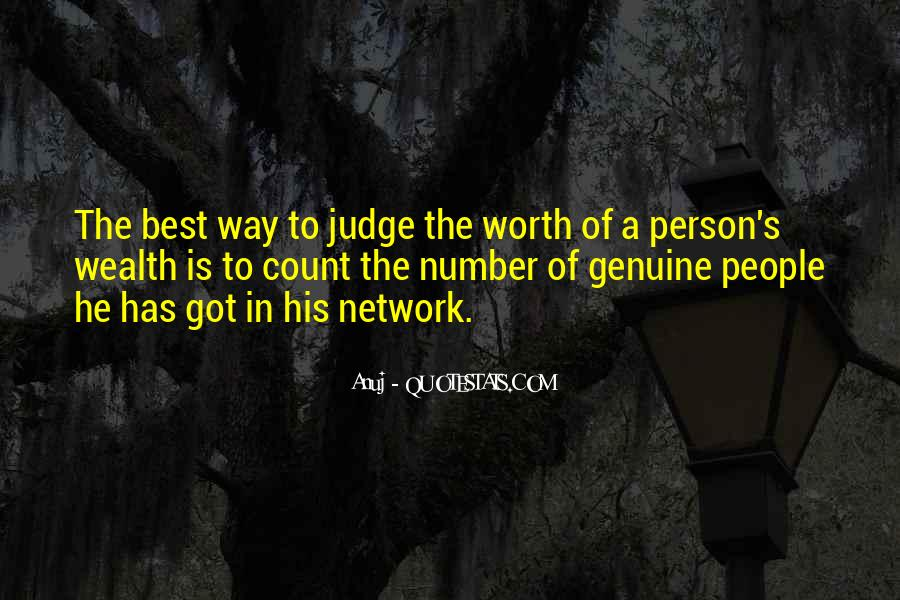 Quotes About Genuine People #143231