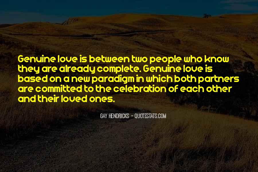 Quotes About Genuine People #328811