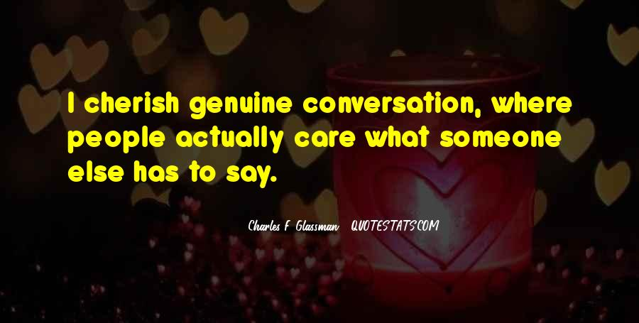 Quotes About Genuine People #3477