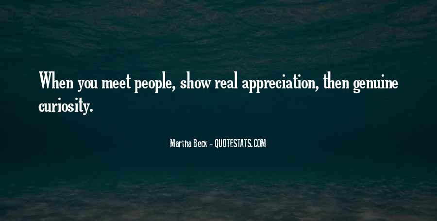 Quotes About Genuine People #424134