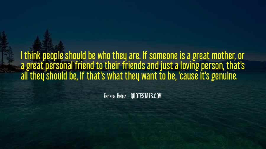 Quotes About Genuine People #497293
