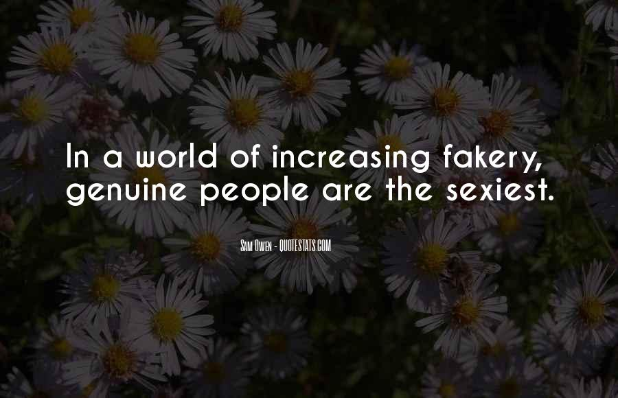Quotes About Genuine People #619296