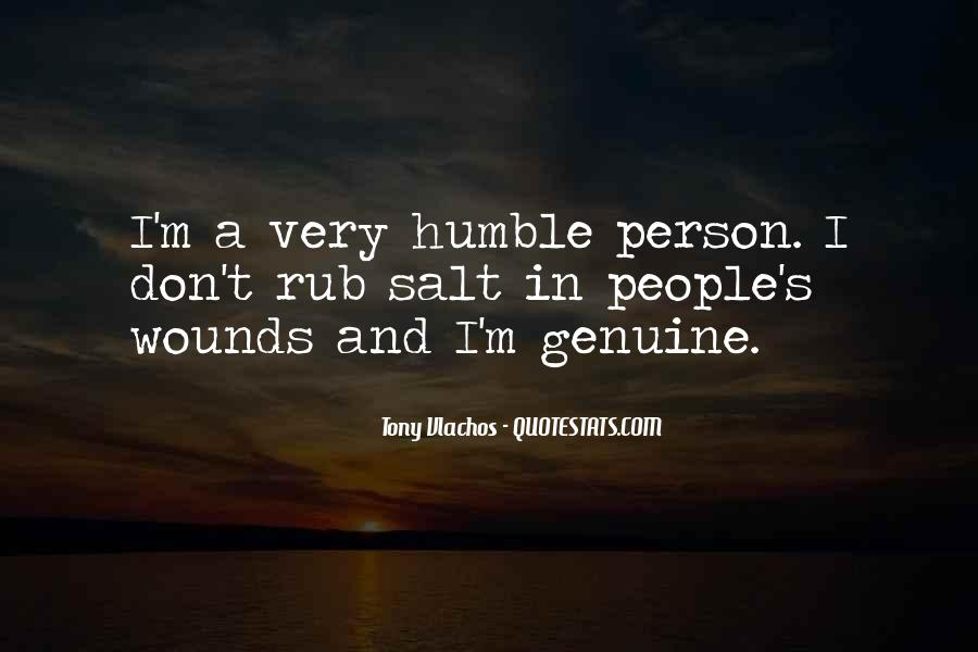 Quotes About Genuine People #641976