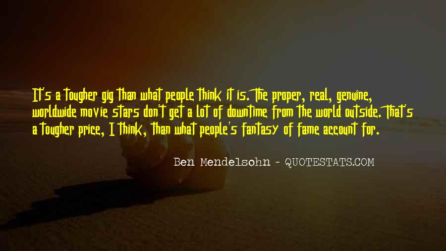 Quotes About Genuine People #731065