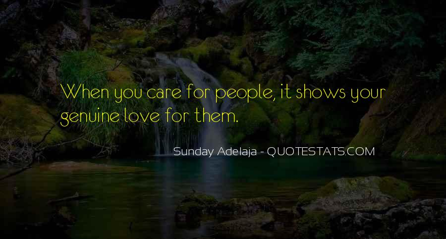 Quotes About Genuine People #753933