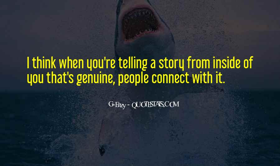 Quotes About Genuine People #807027