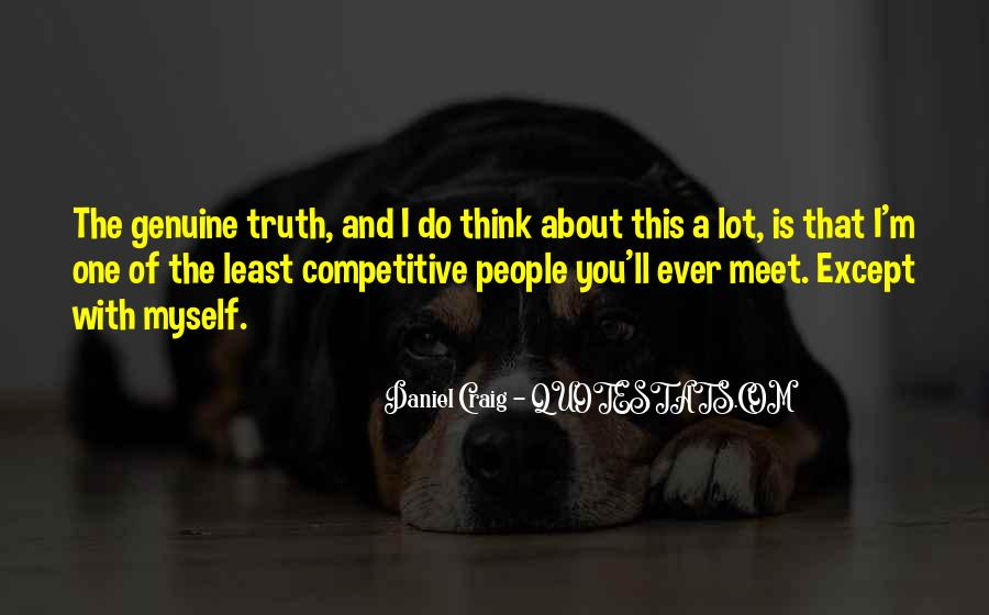 Quotes About Genuine People #812469