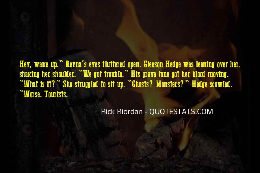 Gleeson Hedge Quotes #1698193