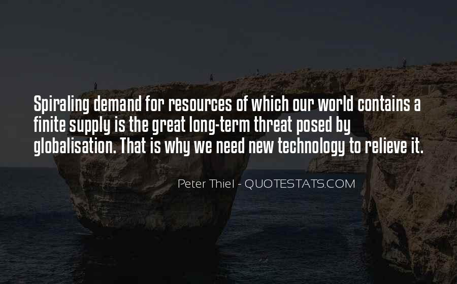 Globalisation And Technology Quotes #1435380