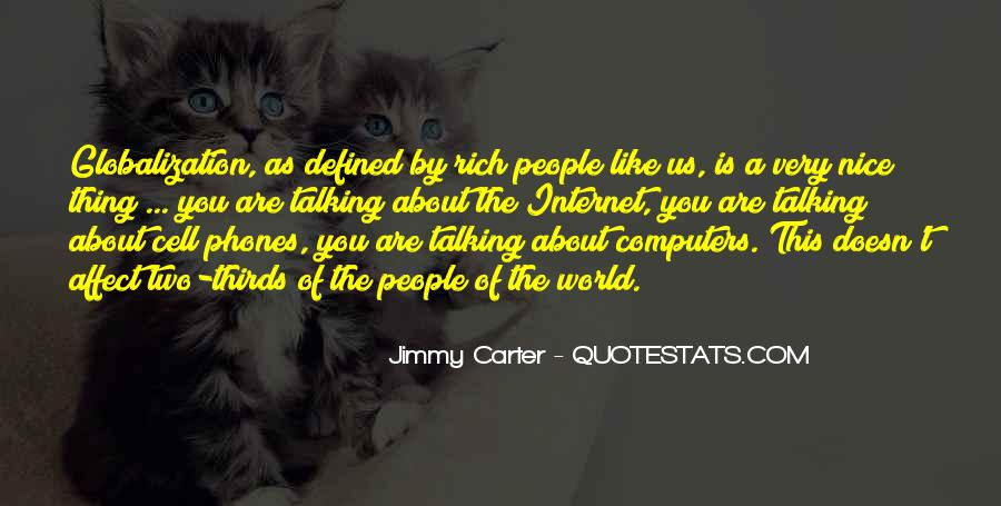 Globalization And Technology Quotes #566097
