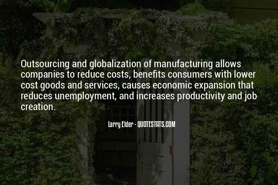 Globalization Outsourcing Quotes #1562347
