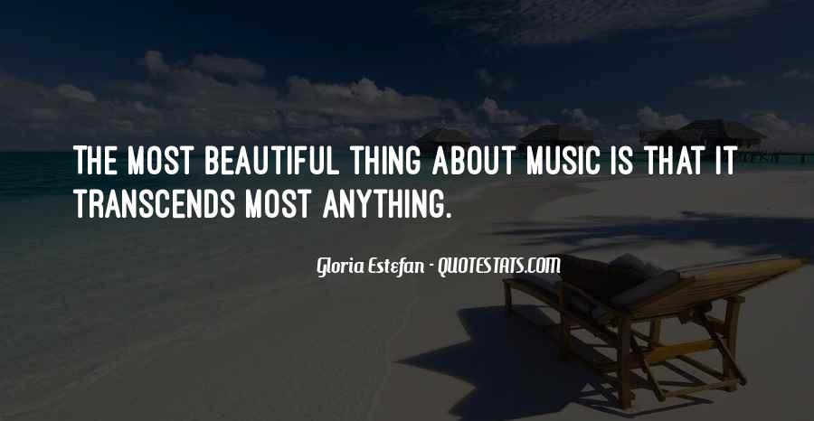 Gloria Estefan Music Quotes #56381