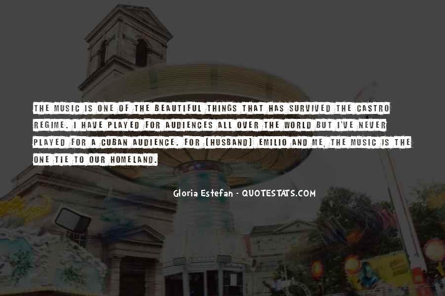 Gloria Estefan Music Quotes #904449