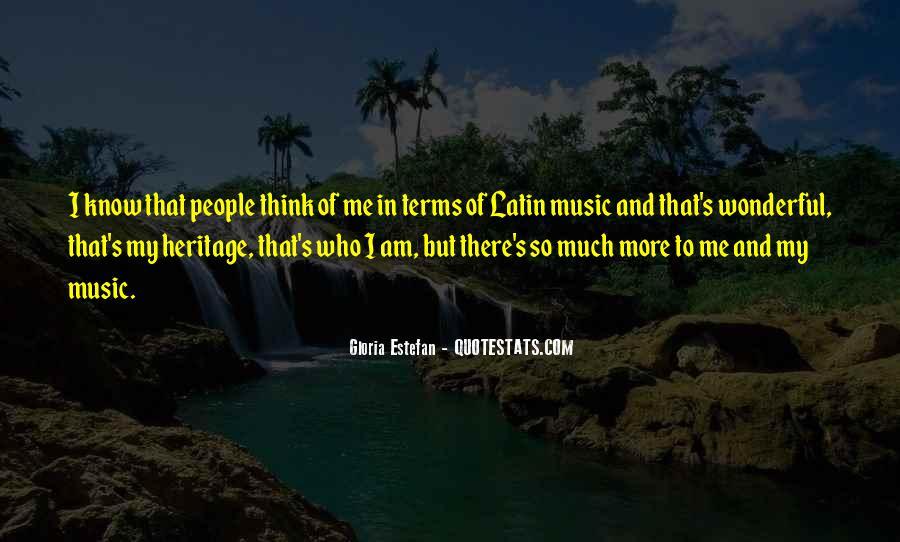 Gloria Estefan Music Quotes #970618