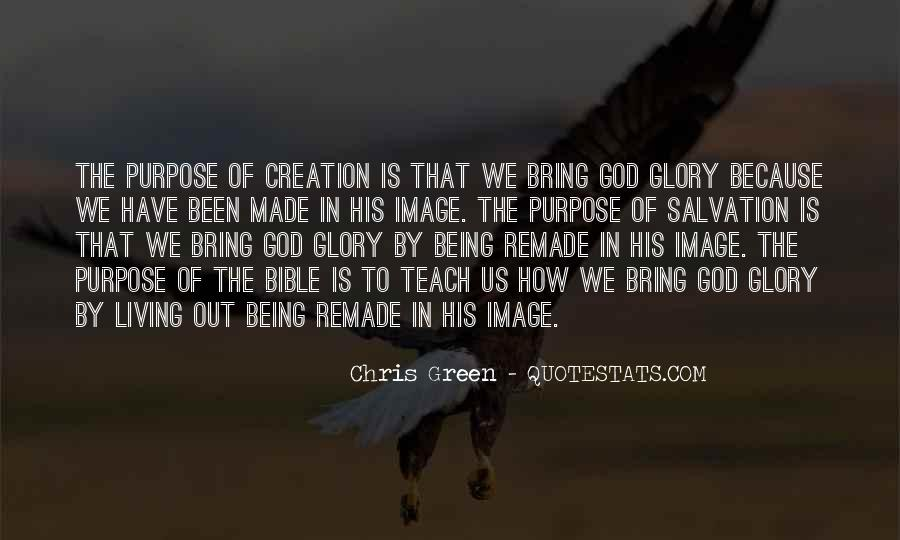 Glory Of God Bible Quotes #1179199
