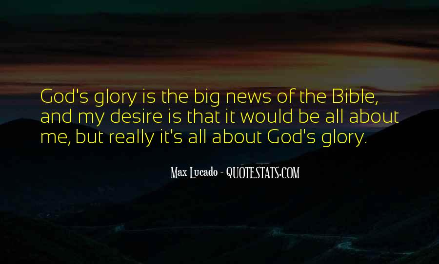 Glory Of God Bible Quotes #177388