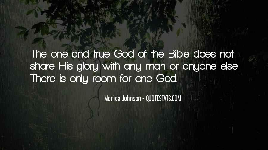 Glory Of God Bible Quotes #704915