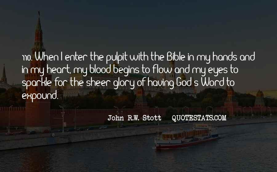 Glory Of God Bible Quotes #735893