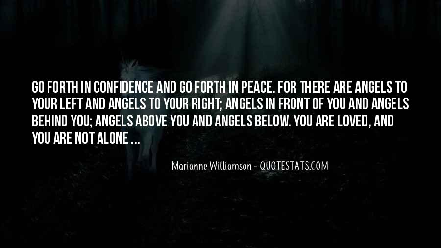 Go Forth With Confidence Quotes #812996