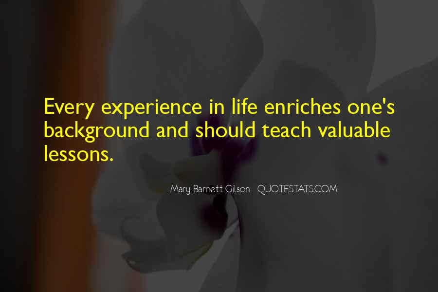 Go Out And Experience Life Quotes #20080