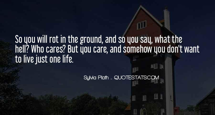 Go Rot In Hell Quotes #1602810