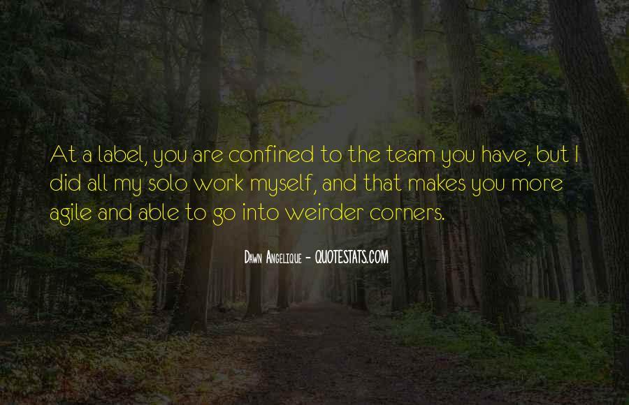 Go Solo Quotes #1310413