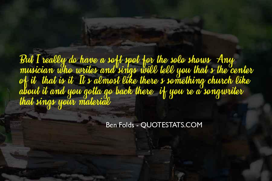Go Solo Quotes #1319429