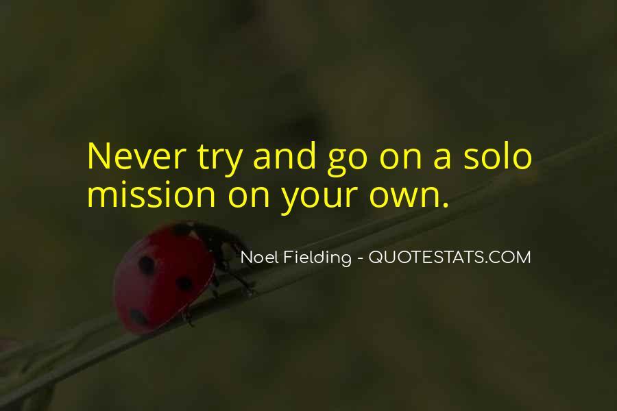 Go Solo Quotes #1439083