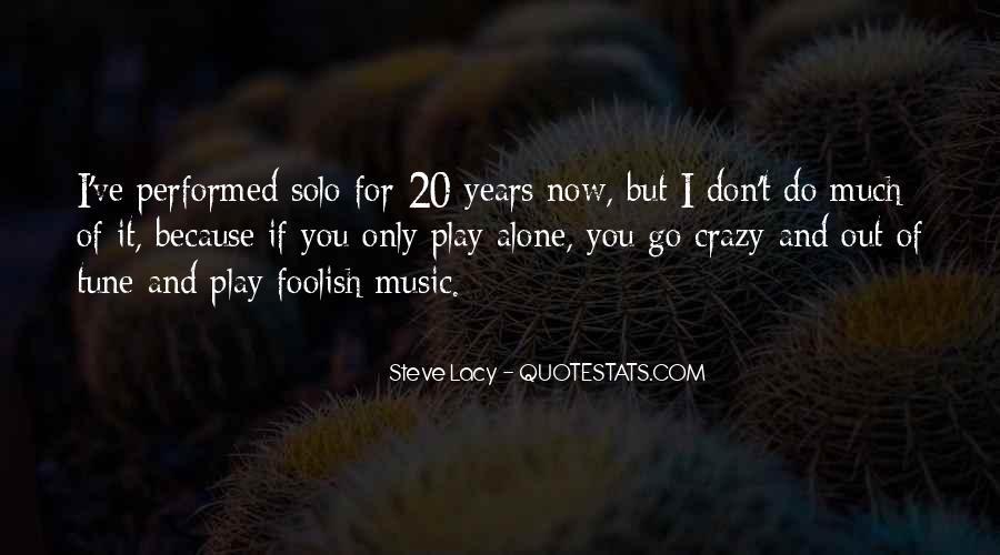 Go Solo Quotes #1843512