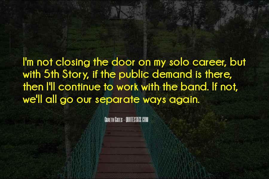 Go Solo Quotes #315851