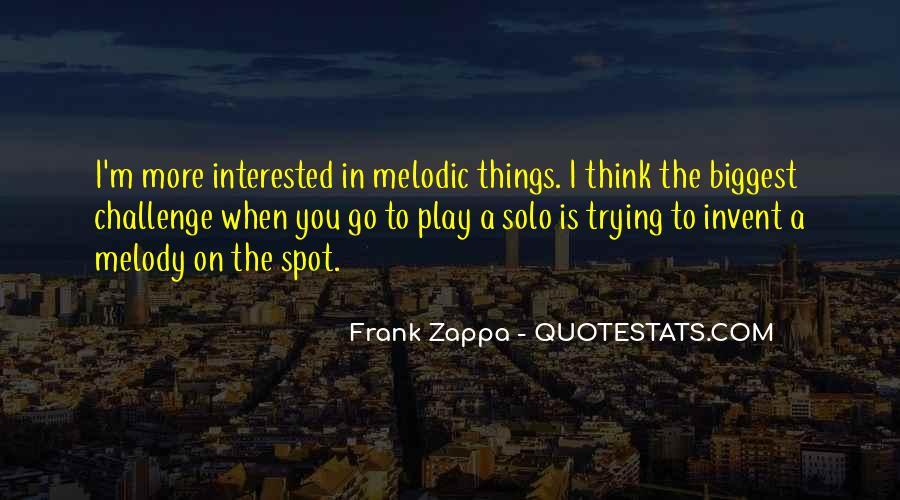 Go Solo Quotes #850719