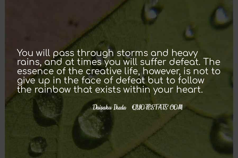 Go Through The Rain Quotes #104852
