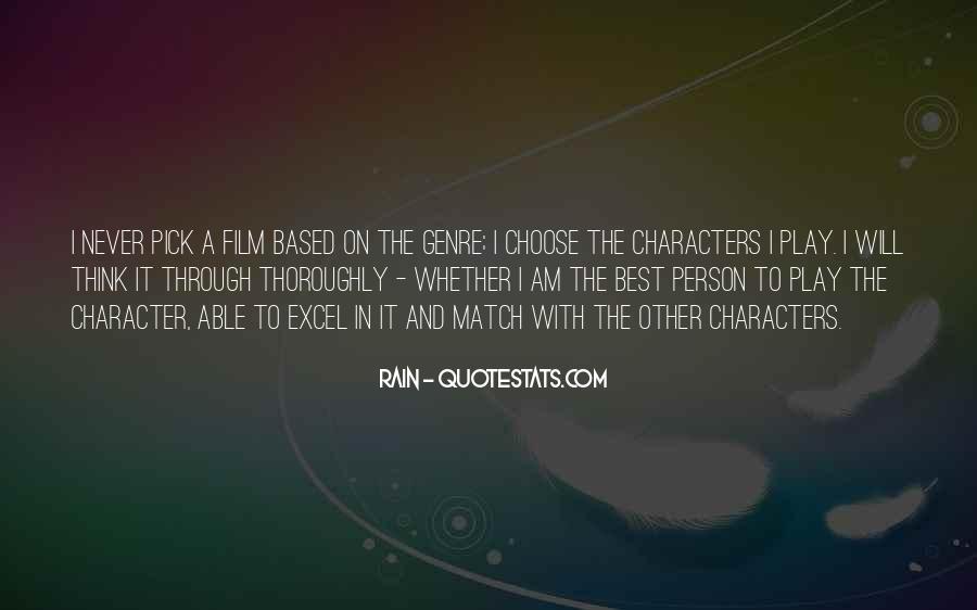 Go Through The Rain Quotes #240012
