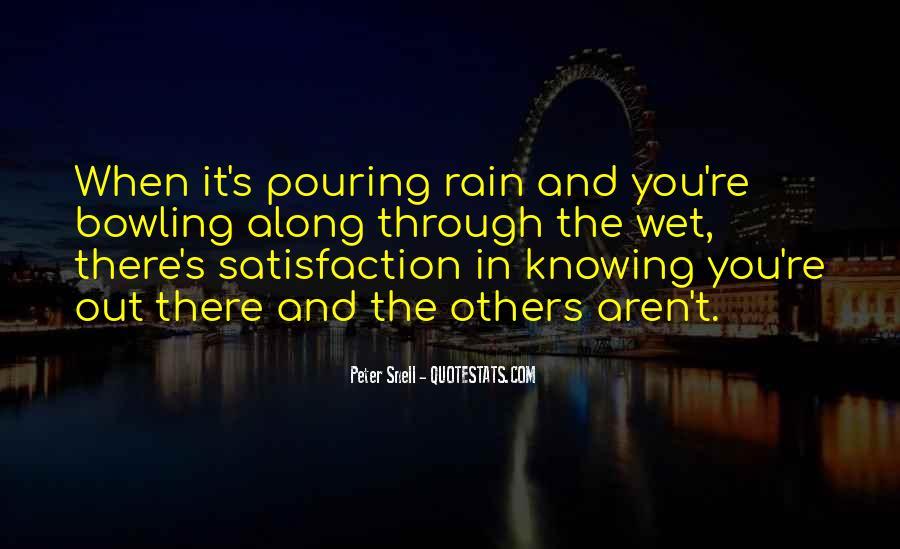 Go Through The Rain Quotes #321745