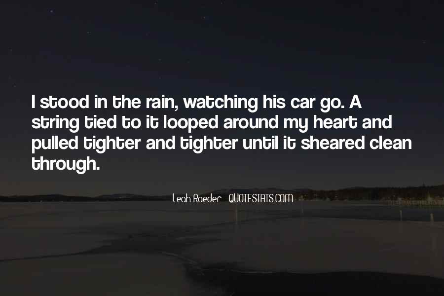 Go Through The Rain Quotes #364242