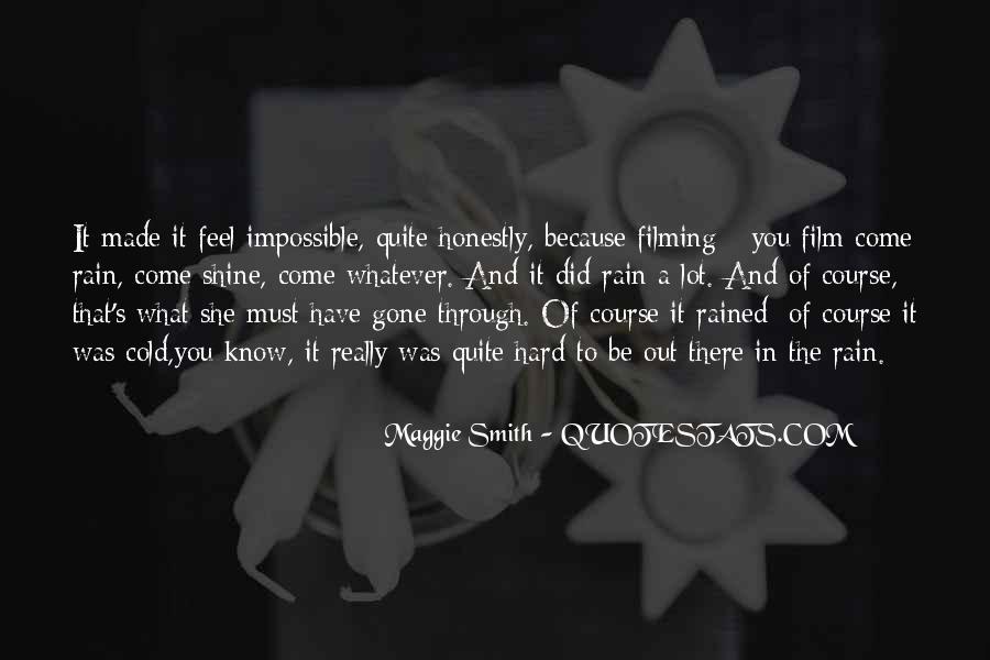 Go Through The Rain Quotes #415524