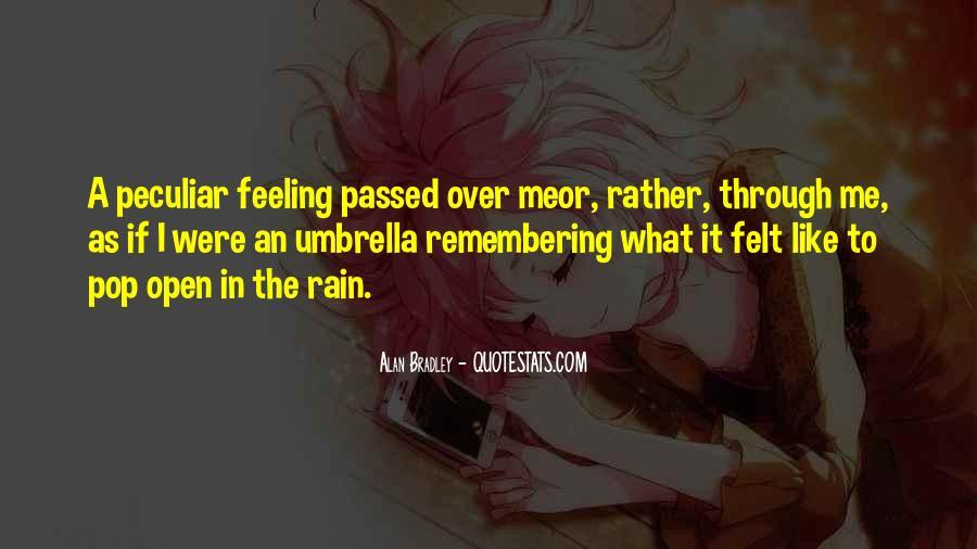 Go Through The Rain Quotes #444223
