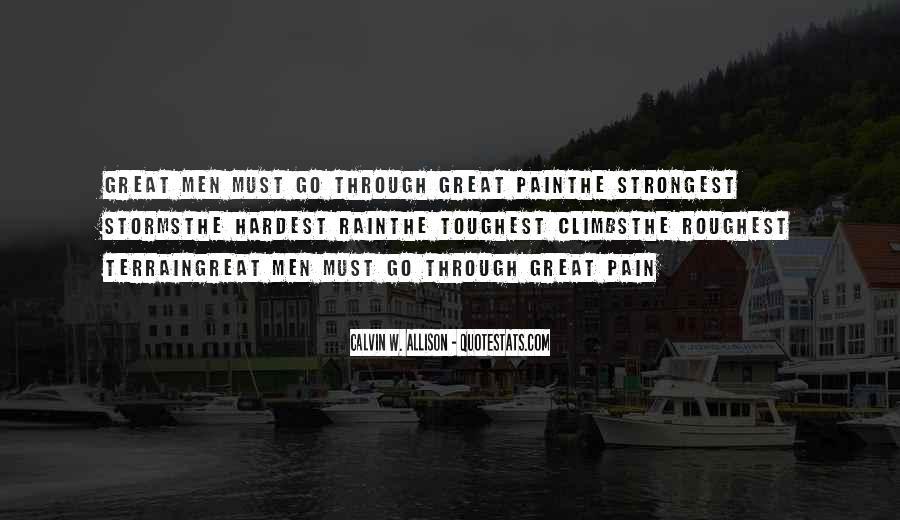 Go Through The Rain Quotes #71062