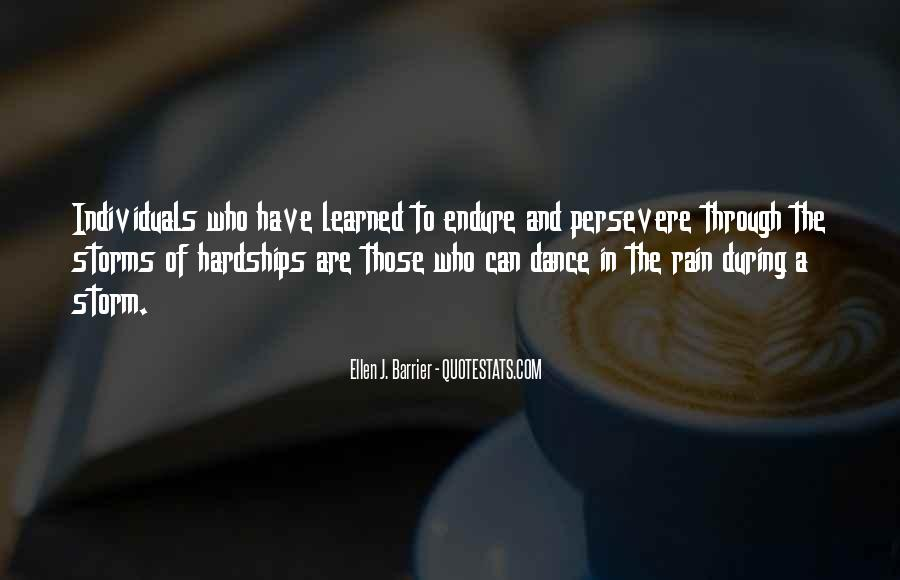 Go Through The Rain Quotes #7534