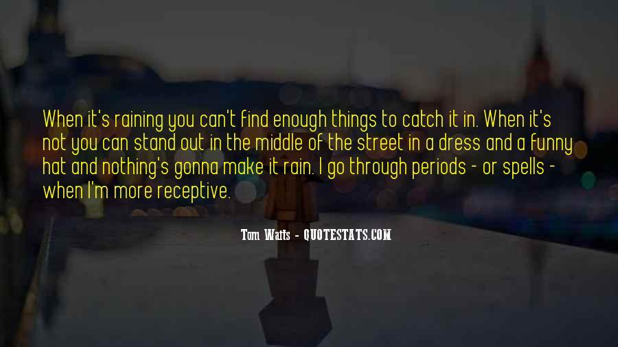 Go Through The Rain Quotes #843771