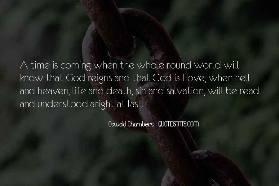 Go To Hell World Quotes #113947