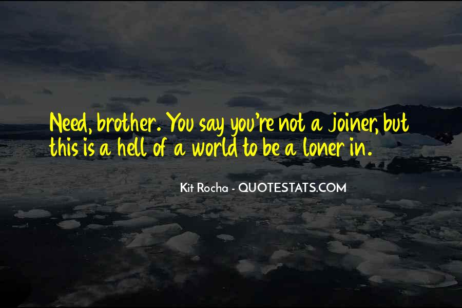 Go To Hell World Quotes #170992