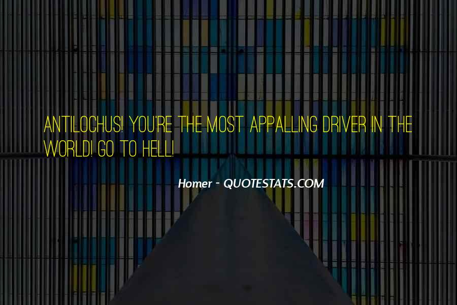 Go To Hell World Quotes #191202