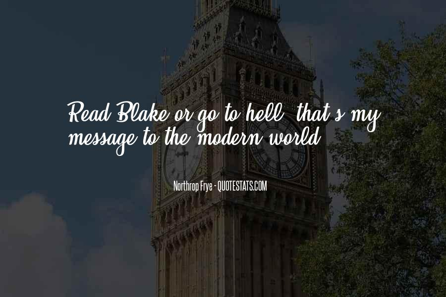 Go To Hell World Quotes #206923