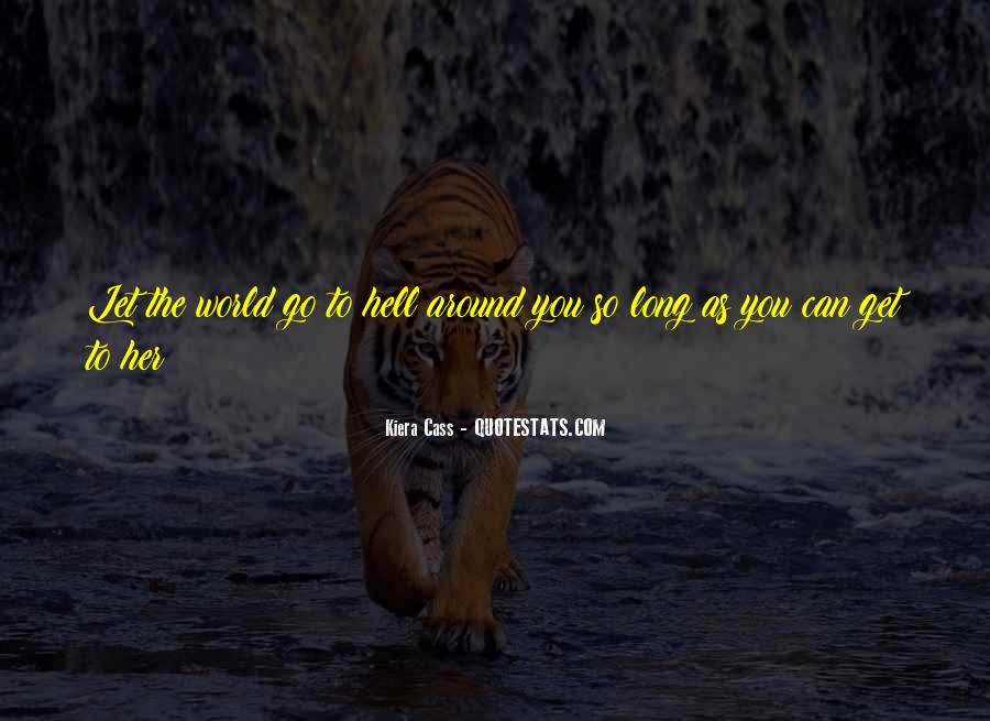 Go To Hell World Quotes #259290