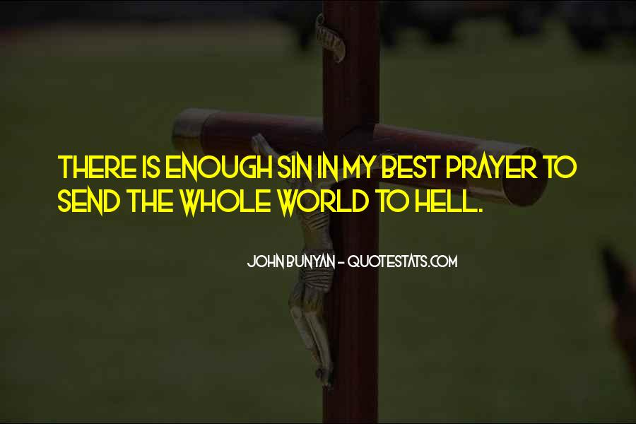 Go To Hell World Quotes #318218